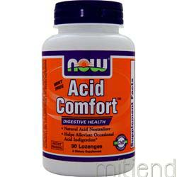Acid Comfort Cinnamon 90 lzngs NOW