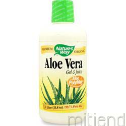 Aloe Vera Liquid Gel & Juice 33 8 fl oz NATURE'S WAY