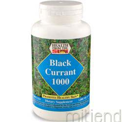 Black Currant Oil 1000mg 60 caps HEALTH FROM THE SUN