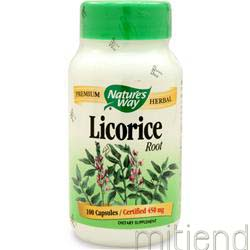 Licorice Root 100 caps NATURE'S WAY