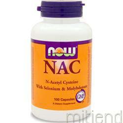 NAC w/ Selenium & Molybdenum 100 caps NOW