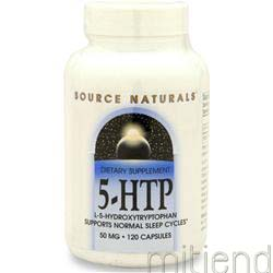 5-HTP 50mg 120 caps SOURCE NATURALS