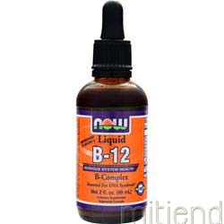 Liquid B-12 B-Complex 60 mL NOW
