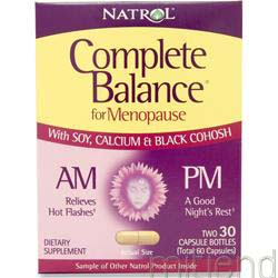 Complete Balance for Menopause AM/PM 60 caps NATROL