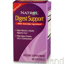 Digest Support 60 caps NATROL