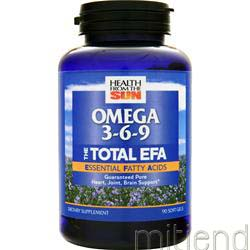 Total EFA 90 sgels HEALTH FROM THE SUN