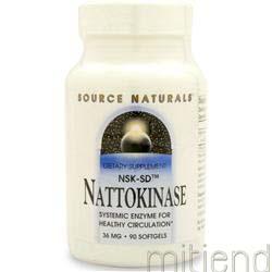 Nattokinase 90 sgels SOURCE NATURALS