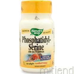 Phosphatidyl Serine 60 sgels NATURE'S WAY