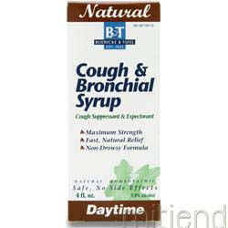 Cough & Bronchial Syrup Daytime 4 fl oz BOERICKE AND TAFEL