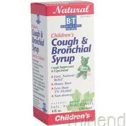 Children's Cough and Bronchial Syrup 4 fl oz BOERICKE AND TAFEL