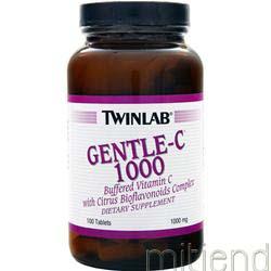 Gentle-C 1000 100 tabs TWINLAB