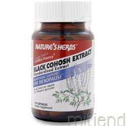 Black Cohosh Extract 60 caps NATURE'S HERBS