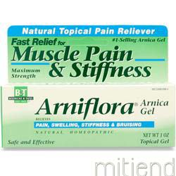 Arniflora Arnica Gel 1 oz BOERICKE AND TAFEL