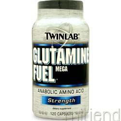 Mega Glutamine Fuel 120 caps TWINLAB