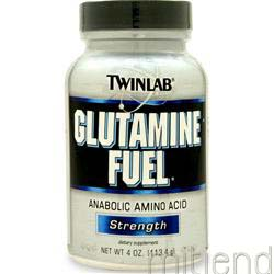 Glutamine Fuel Powder 4 oz TWINLAB