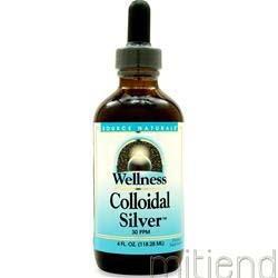 Wellness Colloidal Silver 4 fl oz SOURCE NATURALS