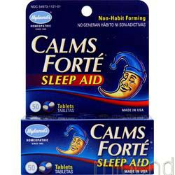 Calms Forte Sleep Aid 50 tabs HYLANDS HOMEOPATHIC