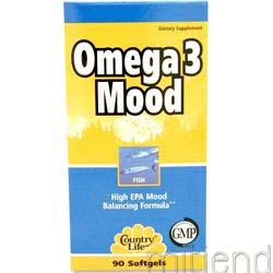 Omega 3 Mood 90 sgels COUNTRY LIFE