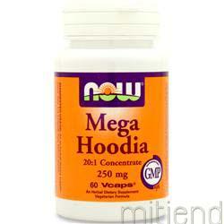 Mega Hoodia 250mg 60 caps NOW