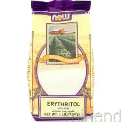 Erythritol 1 lbs NOW