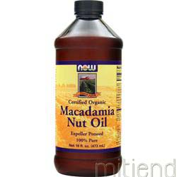 Macadamia Nut Oil 16 fl oz NOW