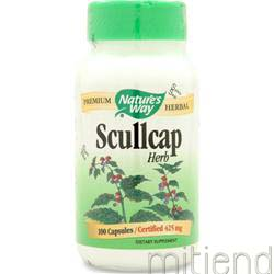 Scullcap Herb 100 caps NATURE'S WAY