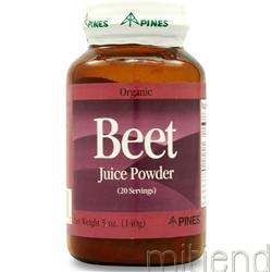 Beet Juice Powder 140 gr PINES