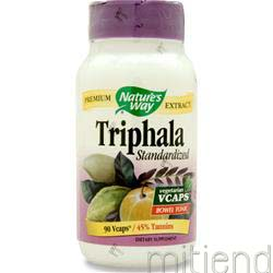 Triphala - Standardized Extract 90 caps NATURE'S WAY
