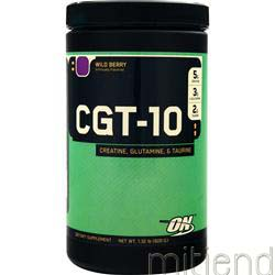 CGT 10 - Creatine Glutamine Taurine Wild Berry 600 gr OPTIMUM NUTRITION