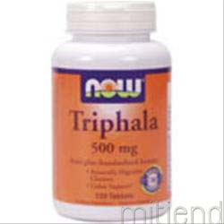Triphala 120 tabs NOW
