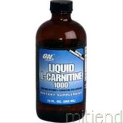 Liquid L-Carnitine 1000 12 fl oz OPTIMUM NUTRITION