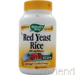 Red Yeast Rice 120 caps NATURE'S WAY