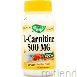 L-Carnitine 60 caps NATURE'S WAY