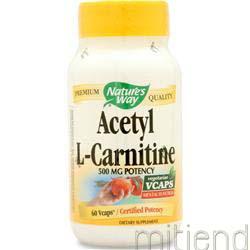 Acetyl L-Carnitine 60 caps NATURE'S WAY
