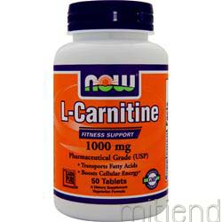 L-Carnitine 1000mg 50 tabs NOW