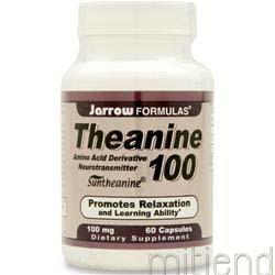 Theanine 100 60 caps JARROW