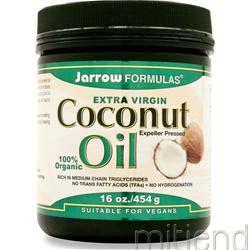 Coconut Oil - Extra Virgin 16 oz JARROW