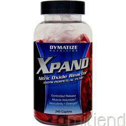 XPand - Nitric Oxide Reactor 240 caps DYMATIZE NUTRITION