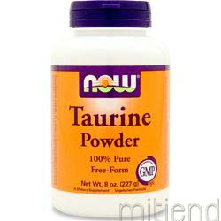 Taurine Powder 8 oz NOW