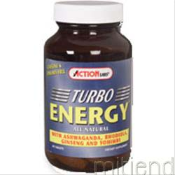 Turbo Energy 60 tabs ACTION LABS