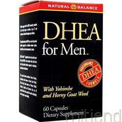 DHEA for Men 60 caps NATURAL BALANCE