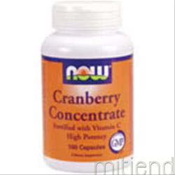 Cranberry Concentrate 100 caps NOW