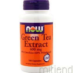Green Tea Extract 400mg 100 caps NOW