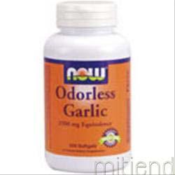 Odorless Garlic 250 sgels NOW