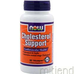 Cholesterol Support 90 caps NOW