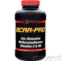 BCAA-Pro 250 caps SAN