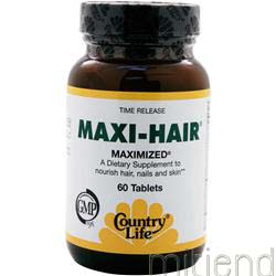 Maxi-Hair 60 tabs COUNTRY LIFE