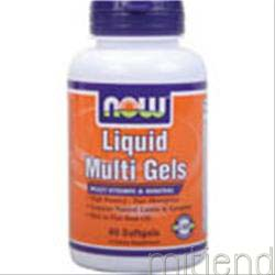 Liquid Multi Gels 60 sgels NOW