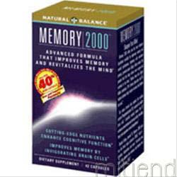 Memory 2000 42 caps NATURAL BALANCE