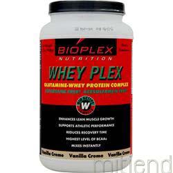 Whey Plex Vanilla Creme 2 lbs BIOPLEX NUTRITION